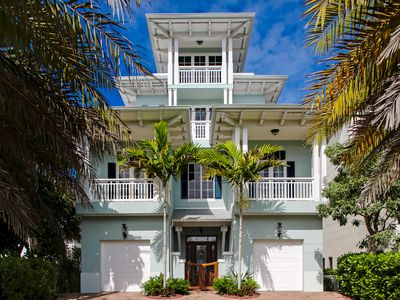 Photo for Luxury Beachfront Getaway | 4-Bed, 4.5-Bath with Pool