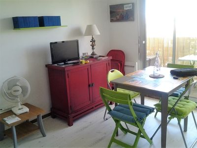 Photo for Sudio cabin-state new-100m from the beach-Gruissan Grazels-balcony-closed parking