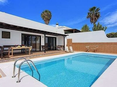 Photo for House 379 m from the center of Costa Teguise with Internet, Pool, Balcony, Garden (970354)