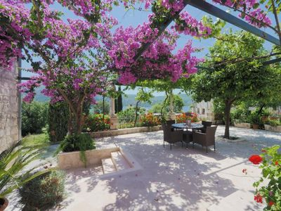 Photo for Studio flat with balcony and sea view Slano (Dubrovnik)
