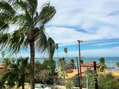 Photo for Great VIEW 3 BR Downtown Condo FULLY equipped 1 block from malecon, Sea view