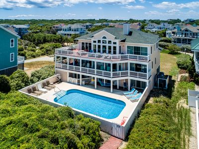 Photo for Ocean Crest | Oceanfront | Private Pool, Hot Tub