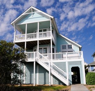 welcome to the  PINK PELICAN your beautiful waterfront home Roanoke Island OBX