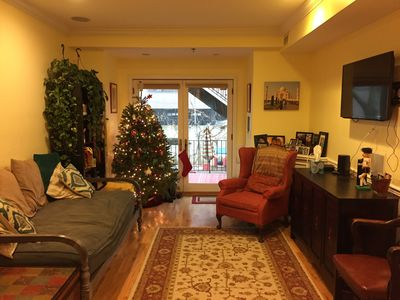 Photo for Minutes to NYC - Cozy 2BR/2BA Available in Hoboken