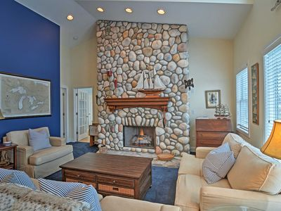 Photo for Harbor Springs Condo w/ Bay View - Walk to Beach!