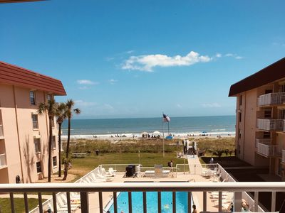 Photo for Ocean, Beach and Pool View on Cocoa Beach! 3rd Floor - 3B 2Ba