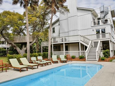 Photo for Wonderful Modern Style Beach Home! Private Pool! Great Ocean Views!