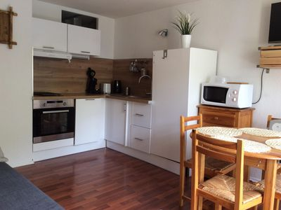 Photo for Renovated apartment T2 bis - in the center of the village - Free WIFI