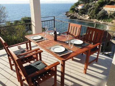 Photo for Lovely  apartment with terrace and gorgeous sea view. Near the beach !