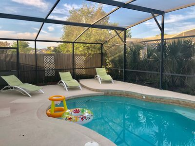 Photo for Deluxe Holiday 4BD Pool Home@ Disney & Universal