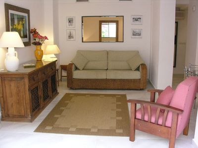 Photo for 1 Bedroom garden apartment in La Manga Club with Wifi & Air-con