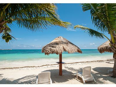Photo for Palma Real, 1 Bedroom Condo on the Beach in Puerto Morelos