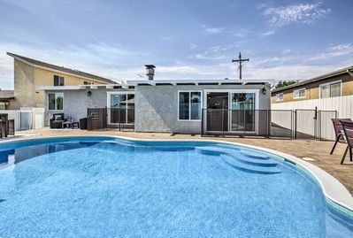 Explore San Diego from this ideally located vacation rental house.