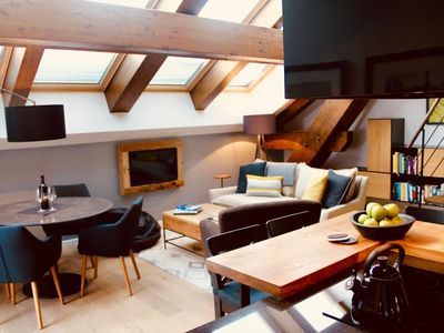 Photo for Modern Apartment with views of Mont-Blanc