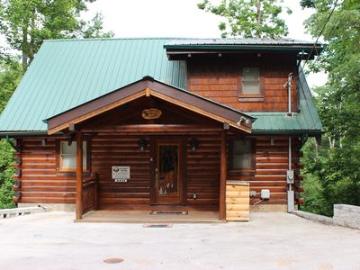 Photo for Low Rates On This Spacious Cabin With Great Views 12 Min From Gatlinburg