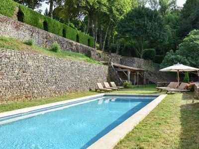 Photo for Plush Mansion on a High-End Property in Saint-Germain-de-Belvès with Pool
