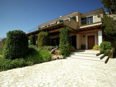 Photo for Luxury country house with stunning views of the Sierra de Tramuntana mountains