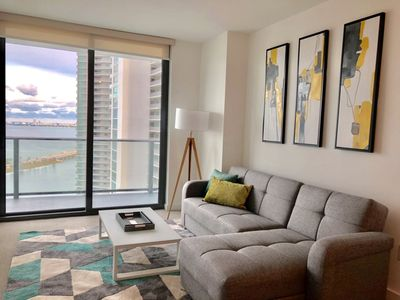 Photo for Breathtaking BayViews from 30 th floor in Best Area of Miami