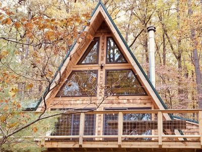 Photo for A-Frame Cabin Escape in George Washington Natl Forest, Lost River Area, WV