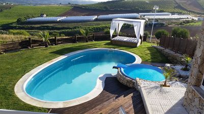 Photo for Luxury holidays Villa next to beaches, swimming pool jacuzzi 2 games room