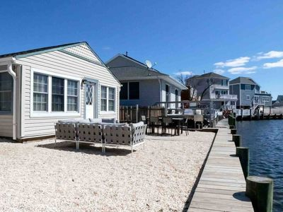 Photo for Cozy & Chic Waterfront Jersey Shore Home
