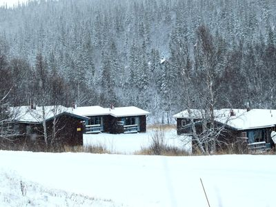 Photo for Cozy cottage in the middle of Bydalefjällen!