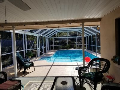 *CLEAN & Private **  3 Bed/2.5 Bath *Solar Heated Pool
