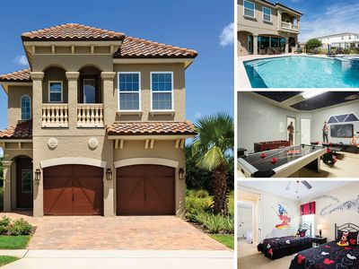 Photo for RVH_033M | Luxury Pool Villa Featuring Kids Bedrooms, Summer Kitchen & Games Room