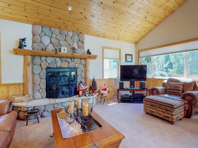 Photo for New Listing! Home w/pool table & mountain views-close to ski & lake