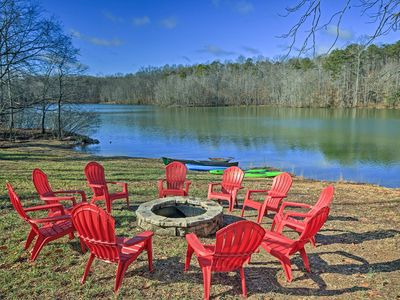 Photo for Lake Anna Waterfront Home w/2 Acres & Covered Dock