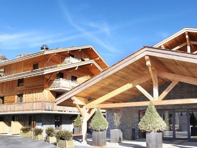 Photo for New luxury residence with pool and spa in atmospheric La Clusaz