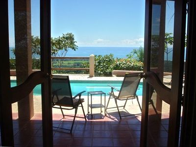 Photo for A True Costa Rican Adventure: Large Pool, OceanView Sunsets Jungle  Private Safe