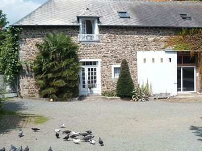 Photo for Very comfortable gite with indoor pool only 40 mins from St Malo