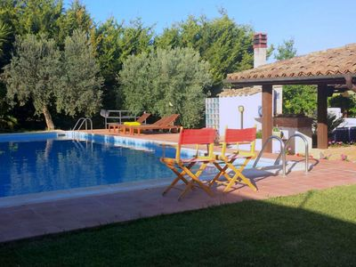 Photo for Pretty and comfortable villa with private pool close to Caltagirone
