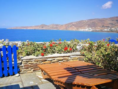 Photo for Stavros Bay - House by the sea in Tinos (for 2/3 pp)