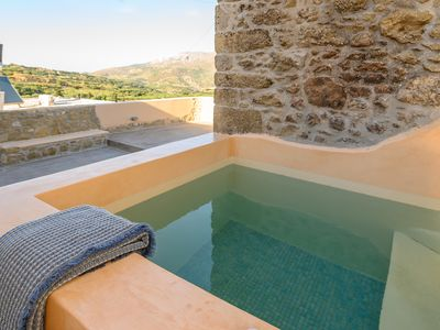 Photo for Pera Chorio - Dafni: Artist's stone house with countryside views