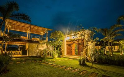Photo for Balinese Style Teak Cottage in Lembongan, Features a Swimming Pool and Huge Lawn