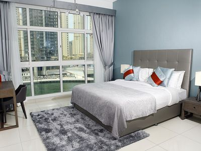 Photo for Modern 1br right on Dubai Marina