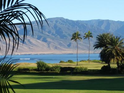 View of West Maui from your lanai