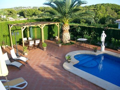 Photo for Luxury Villa With Private Pool, Table Tennis, UK TV And Wi-Fi