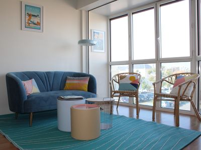 Photo for NEW-Nice T2 apartment at 50m beach - Pool, Tennis - Near train station, market