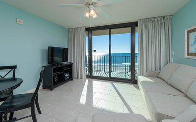 Photo for Balcony on the Beach! Hotel Suite with Full Kitchen & Bunks *1st Floor*