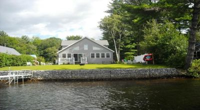 View of back of house from water