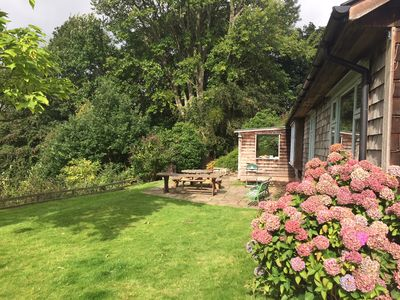 Photo for A beautifully secluded country cottage situated just outside Hay-on-Wye