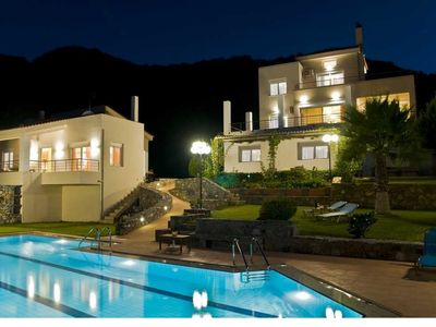 Photo for Agnanti Agia Pelagia, amazing view, private pool, perfect for families - groups