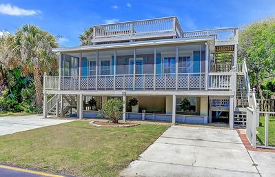 Photo for 2nd Row, Pet Friendly Folly Beach - Rooftop Deck, Close to Beach