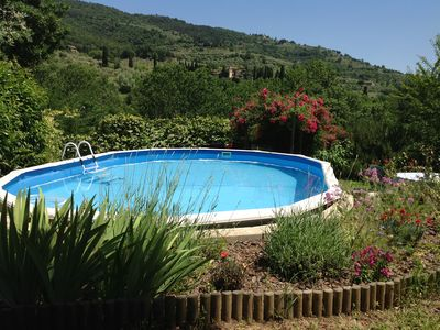 Photo for Romantic and cozy holiday apartment in the heart of Tuscany