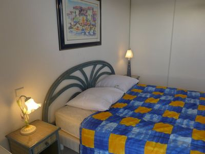 Photo for Apartment 1.2 km from the center of Fréjus with Internet, Air conditioning, Lift, Parking (630092)