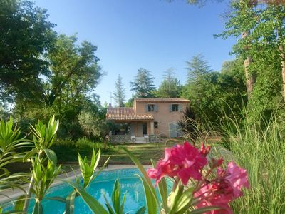 Photo for Aix en Provence, Superb Villa at the foot of the Sainte Victoire.