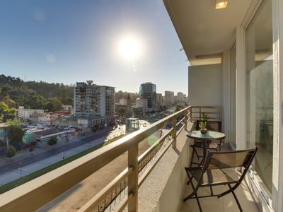Two private apts. together offer sweeping views and great location!